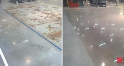 Usuwanie rdzy z betonu, Kluczbork 2018