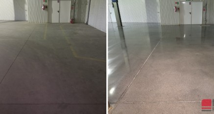 Szlifowanie betonu dla firmy Metroplast, Nysa 2020