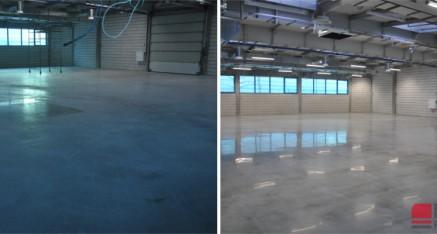 Modernizacja posadzek dla firmy Pablo, Kielce 2017