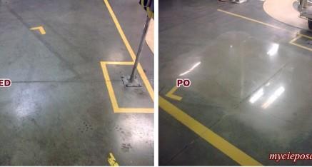 Prezentacja polerowany beton