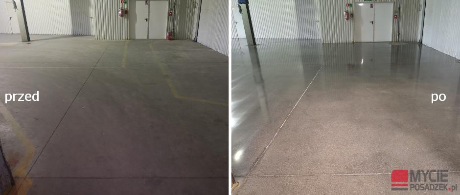 Szlifowanie betonu Nysa Metroplast 2019