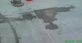 Usuwanie plam z betonu