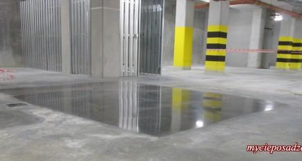 pokaz polerowania betonu