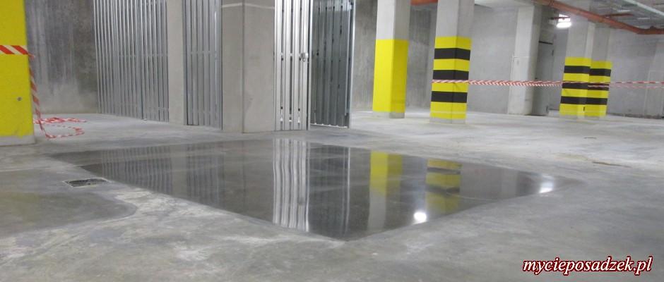 Szlifowanie betonu cena