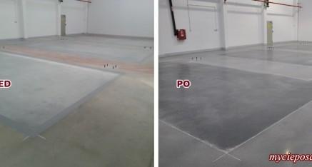 Renowacja posadzki betonowej