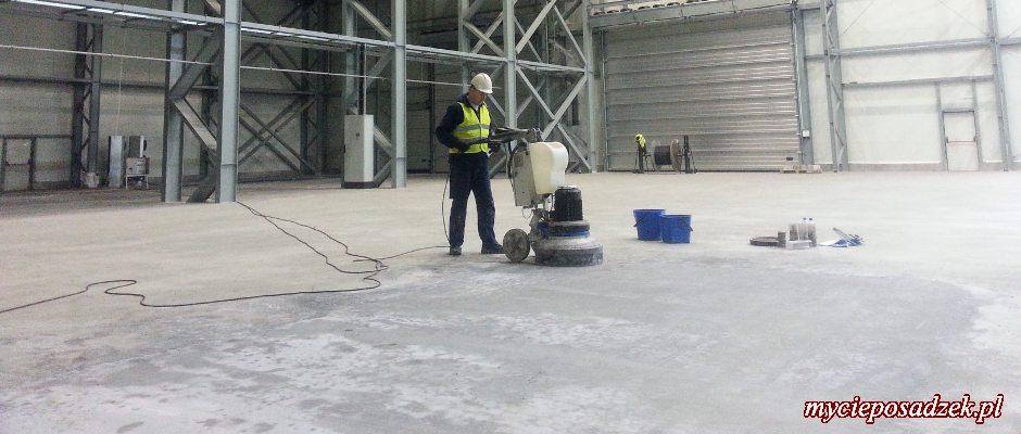 Szlifowanie betonu poznań